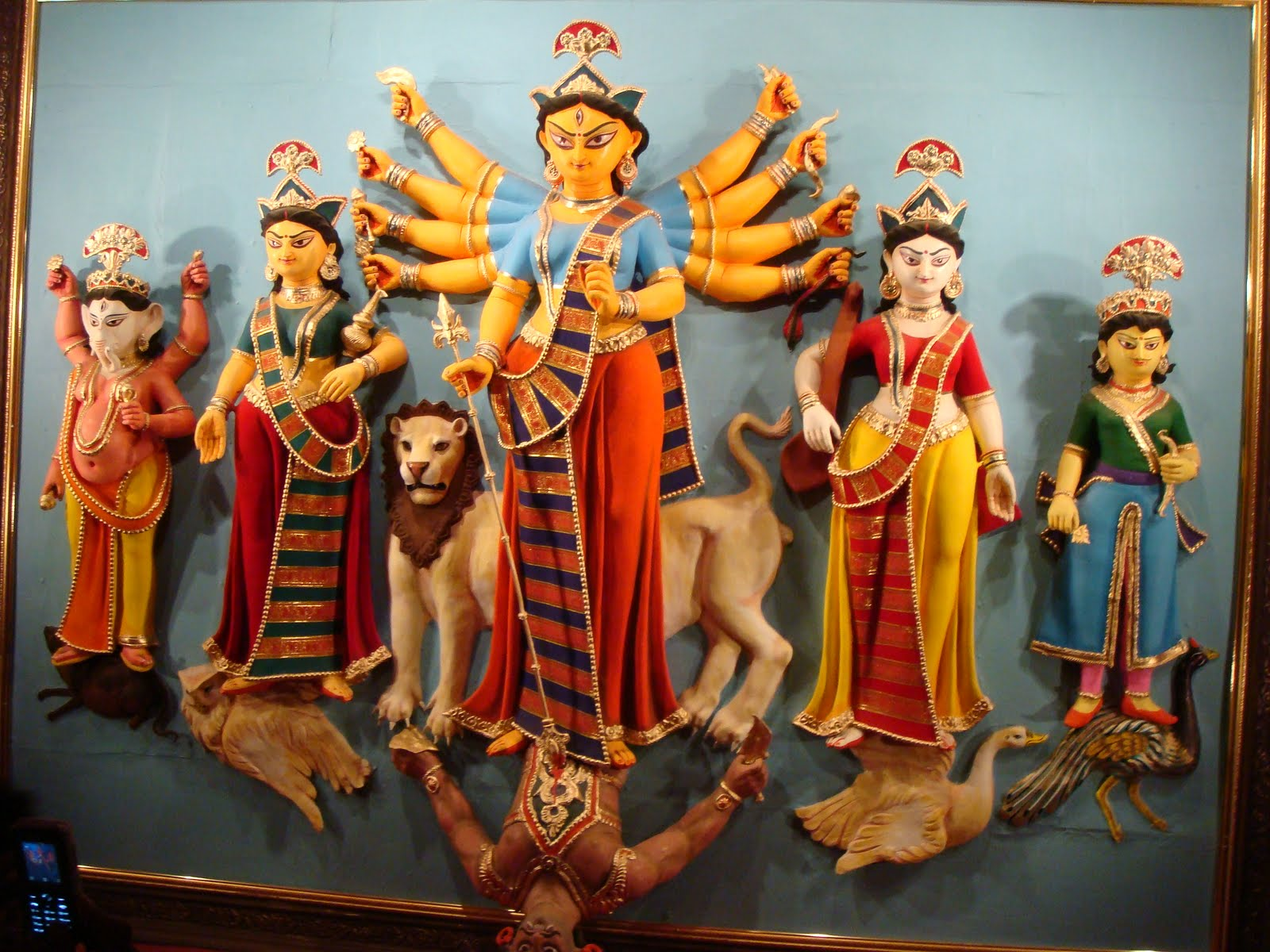 durga puja celebrations and calcutta maverick misfit telengabagan in north calcutta